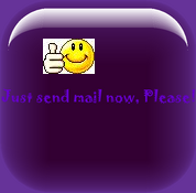 Just send mail right now please!